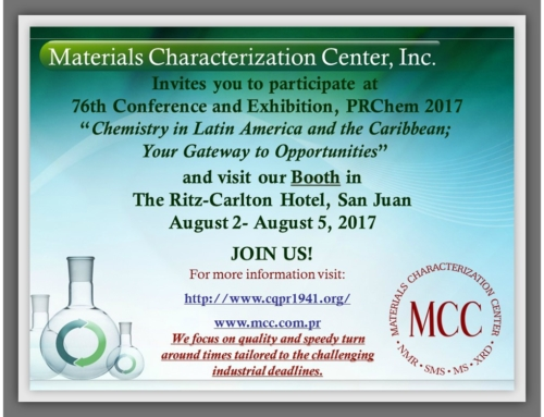 "PRCHEM 2017   ""Chemistry in Latin America and the Caribbean; Your Gateway to Opportunities""."